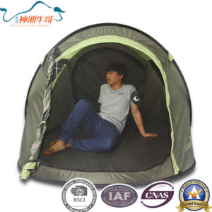 2017 New 190t Polyester Pop up Tent for Camping pictures & photos