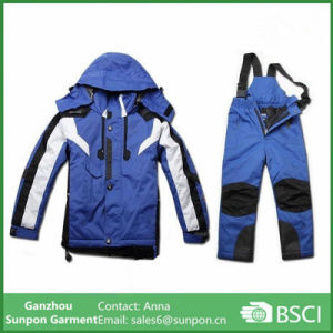 Warm Coat Kids Clothes Set Waterproof Windproof Boys Girls Jackets pictures & photos