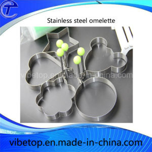 High Quality Kitchen Omelette Stainless Steel Egg Mold pictures & photos