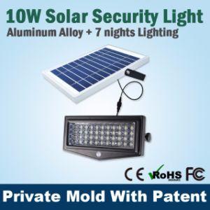 10W Solar Light PIR Security Wall Light Outdoor LED Light Energy Saving Solar Lamp pictures & photos