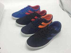 Hot Selling Fashion Casual Canvas Shoes (J2288)