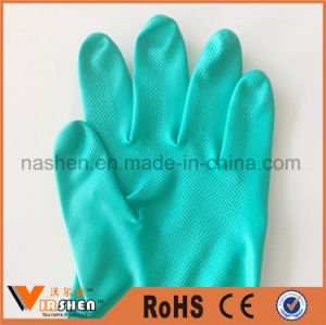 Household Waterproof and Soft Washing Latex Gloves pictures & photos