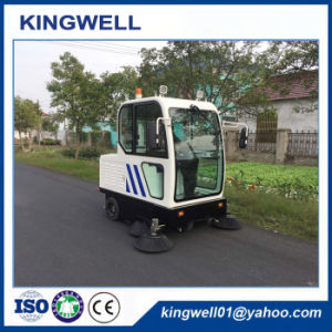 Battery Opreated Cleaning Machine Street Sweeper (KW-1900F) pictures & photos