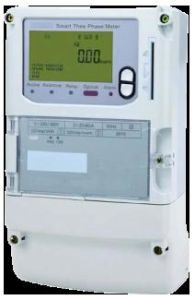 Three Phase IC Card Prepayment Electric Meter Dtsy150 pictures & photos