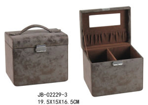 Fashion Leather Ladies Cosmetic Box pictures & photos