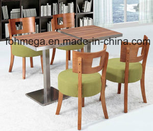 Luxury Wooden Restaurant Tables and Chairs for Cafe/Hotel (FOH-BCA08) pictures & photos