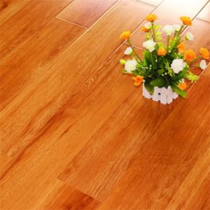 12mm Cherry Pressed Beveled Edge Lamate Flooring pictures & photos