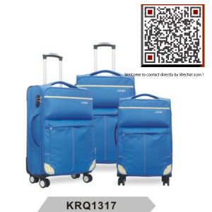 Fashion EVA Soft Travel Trolley Luggage Suitcase (KRQ1317#) pictures & photos