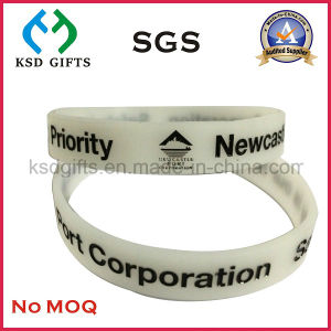 Promotion Cheap Gift Silicon Bracelet/Silicone Wristband pictures & photos