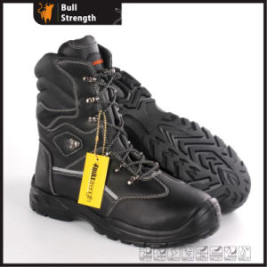 PU/Rubber Outsole Series Genuine Leather Boot with Steel Toe (SN5492) pictures & photos