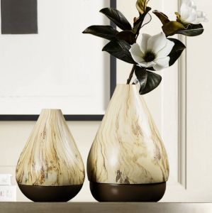 Onical Ceramic Flower Vase for Home Decoration pictures & photos