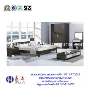 Wooden Kingsize Bed Dubai Hotel Bedroom Furniture (SH-004#) pictures & photos