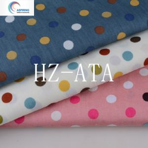 T/C Printed Poplin Fabric pictures & photos