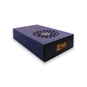 New Design Specialty Paper Logo Foil Stamping Tea Box pictures & photos