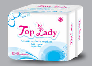 Sanitary Napkin/ OEM Service/ Sanitary Towels/ 12 Napkins+5 Panty Liner pictures & photos