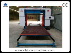 Automatic PVC Foam Cutting Machinery with Press-Roller pictures & photos