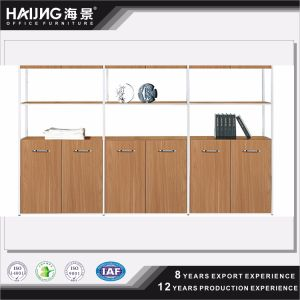 China Popular Melamine Office Cabinet, Office Display Cabinet with Doors