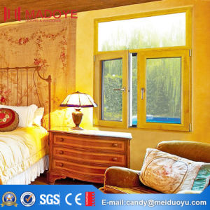Curved Top Design Double Open Swing Window pictures & photos
