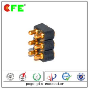 SMD Double Row 8pin Pogo Pin Connector for PCB Board pictures & photos