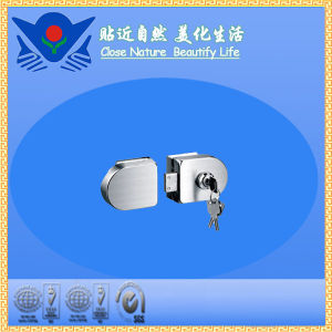 Xc-D2026 High Quality Furniture Hardware Stainless Steel Glass Door Lock pictures & photos