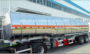 Asphalt Transport Tank Semi Trailer (38m3) (HTC9400GFL) pictures & photos