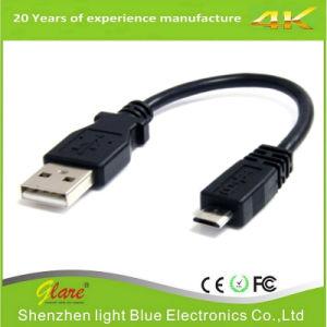 Black Color PVC Mobile Phone USB Cable pictures & photos