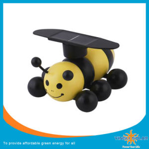 Solar Energy Powered Wooden Bee (SZYL-ST-02) pictures & photos