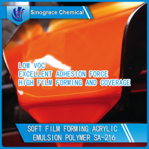 Water Resistant Styrene Acrylic Emulsion for Printing Ink pictures & photos