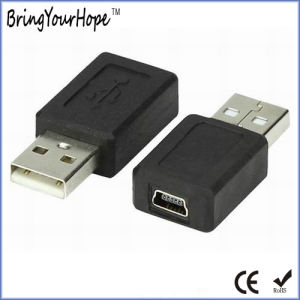 USB a Male to Mini USB Female Adapter pictures & photos