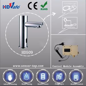 Pillar Design Electronic Integrated Spout Infrared Automatic Sensor Tap pictures & photos