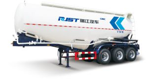 50m3 Powder Tank Semi Trailer with 3 Axles pictures & photos