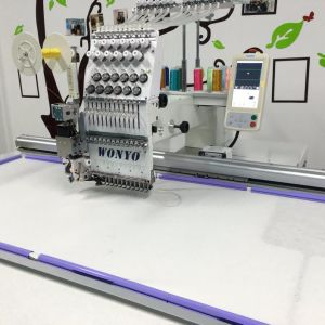 Wonyo Big Area Single Head Sequin and Cording Embroidery Machine pictures & photos