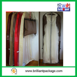 Garments Bags Wedding Dress Covers White pictures & photos