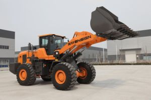 Front Wheel Loader Ensign Yx667 (Weichai Engine, Pilot Control, 3.5 m3 Bucket, A/C) pictures & photos