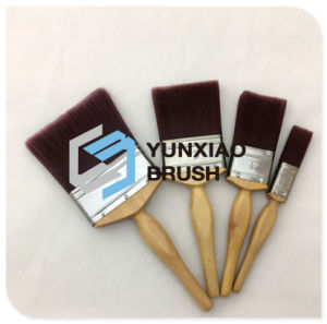 Filament Paint Brush with Beech Wood Handle pictures & photos