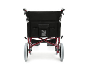 Aluminum Light Weight, Transport Chair with Hand Brake (AL-BL09) pictures & photos