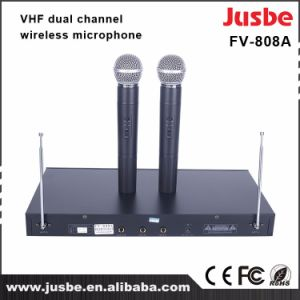 Fv-808A VHF Two-Channel Wireless Handheld Microphone pictures & photos