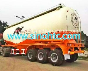 45m3 Bulk Cement Silo Tanker Semi Truck Trailer (HTC9405GFL) pictures & photos