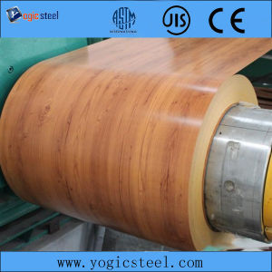 Wooden Pre Painted PPGI/PPGL Steel Coil pictures & photos