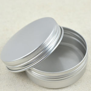 2oz Silver Aluminum Can with Screw Lid pictures & photos
