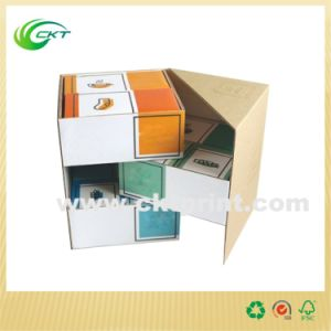 Customized Printed Corrugated Bottom Box (CKT- CB-208) pictures & photos