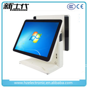 Cash Register with 15 Inch Dual Touch Screen POS Machine