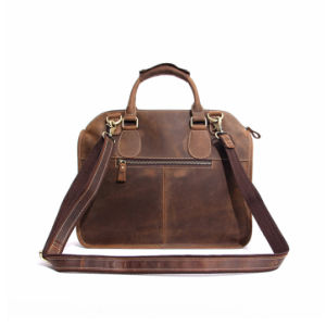 OEM and ODM Top Layer Cowhide Leather Fashion Man Handbags (RS-MS3857) pictures & photos