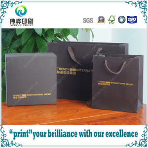 Set of Luxury Promotional Packaging Bags and Gift Box Printing pictures & photos