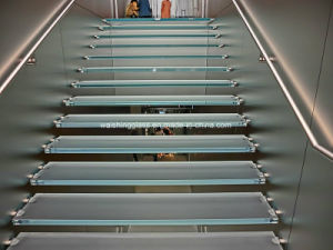 5mm Low Iron Laminated Glass for Stairs pictures & photos