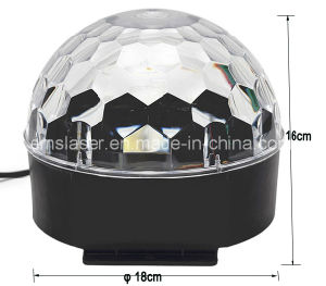 Cheap Rgbywp LED LED Crystal Magic Ball Disco Stage Lights Basic Stage Sound Control pictures & photos