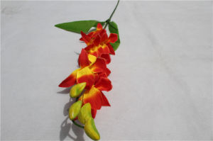 2017 Cheap Wholesale Artificial Phaleanopsis Orchid Flower Hot Popular pictures & photos