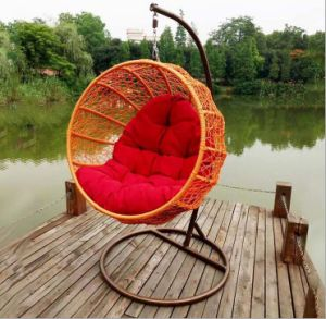 Swing Outdoor Swing, Rattan Furniture, Rattan Basket (D024D) pictures & photos