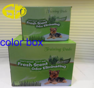 Pet Dog Removable Training Pads 50CT or 100CT Per Color Box pictures & photos
