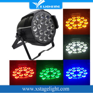 Indoor 18*15W RGBWA 5in1 Stage Wash DMX LED PAR Light pictures & photos